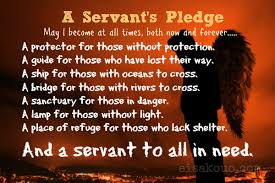 Christian Servanthood Quotes Best of A Servant's Pledge Eisakouo