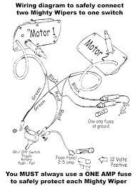 the mighty wiper wiring diagram raingear wiper systems search