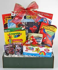 spider man gift package ages 4 7 gifty baskets and flowers of hanover pa