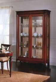 opera showcase 2 doors 2 doors display cabinet with solid wood glass shelves