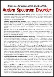 autism spectrum disorders aba autism spectrum  strategies for working children autism spectrum disorder make take teach