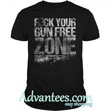 Grunt Style Fuck Your Gun Free Zone Shirt
