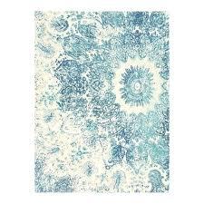teal wool rug stripe distressed mandala cobalt uk brink and mist hand knotted designer rugs of distressed rococo wool rug round teal dark