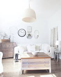 vintage style shabby chic office design. Cheerful Shabby Chic Living Room With Beach Cottage Vibe [From: A Cottage] Vintage Style Office Design E