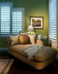 View in gallery Tucking the bed in the corner to save up on space