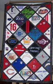 tshirt quilt idea to-do-sewing-quilting | books | Pinterest ... & T shirts quilt blanket! I will do this one day with my old shirts and/or my  boys shirts when they are older! Must do on my list! by suzanne Adamdwight.com