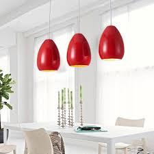 red pendant lighting. modern pendant light dining room kitchen restaurant e27 industrial lamps black white red iron decor home lighting