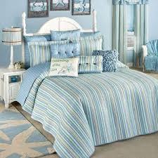Finding Oversized Bedspreads | LoveToKnow & Clearwater Coastal Striped Oversized Bedspread Adamdwight.com