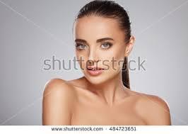 Beauty Fashion Portrait Caucasian Young Girl Stock Photo               Shutterstock