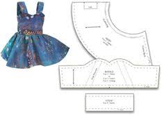 American Girl Clothes Patterns Custom Discover American Girl For Elizabeth Free Patterns Ideas On