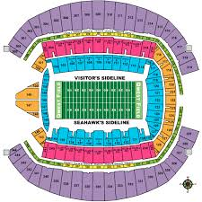 Seattle Seahawks Stadium Seating Chart Rows Buy Sell Seattle Seahawks 2019 Season Tickets And Playoff
