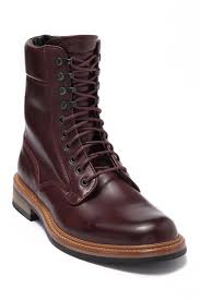 Rag And Bone Boot Size Chart Spencer Leather Military Boot In Oxblood