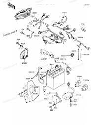 Kawasaki concours wiring diagram and fuse box