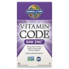 <b>Vitamin Code Raw</b> Vegan Zinc - 60 Capsules | Garden of Life UK