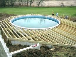 above ground pool deck kits. Swimming Pool Decks Above Ground Oval Deck Plans Pictures In Design  Delectable Ideas Des . Kit Kits