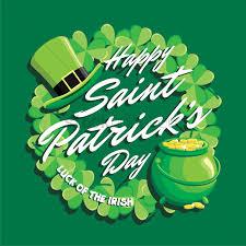 St Patrick S Day Designs Happy Saint Patricks Day Design Vector Image 1991483