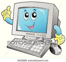 Computer Clip Art Cartoon Computer Clipart 1 450 X 430 Making The Web Com