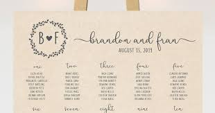 Wedding Guest List Seating Chart Wedding Reception Seating Chart And How To Seat Your Guests