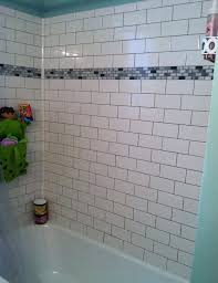 white subway tile tub surround ideas bathroom feature wall t tile bathtub surround ideas