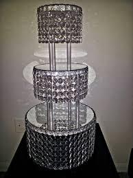 chandelier cake stand hire uk musethecollective wedding crystal acrylic