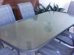 full size of glass top table per black protector toronto pers outside and chairs classifieds