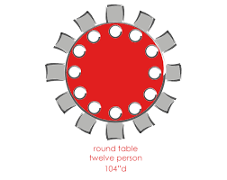 round 10 person tables round 12 person tables