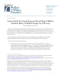 clinton child tax credit proposal would help million families file type icon