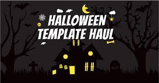 Halloween Template 18 Spooky Gems Halloween Template Haul Crello Blog