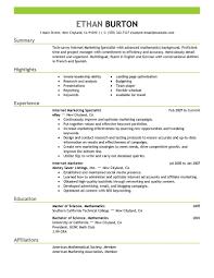 Digital Media Resume Resume For Study