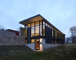 Strahlende Energie Modernes Haus Im Modernen Design Mit Einem