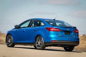 2015 ford focus sedan black. 2015 ford focus sedan rear blue black