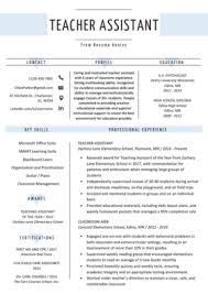 Home > resume tips > teacher resume template. Teacher Resume Samples Writing Guide Resume Genius