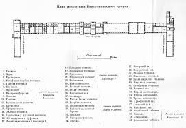 First Floor Plan Catherine Palace Yekaterininskiy Dvorets Catherine Palace Floor Plan