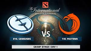 dota 2 live evil geniuses vs tnc bo2 the international 7