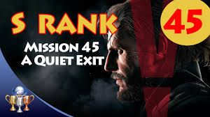 Metal Gear Solid V The Phantom Pain How To Unlock A Quiet Exit