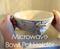 Microwave Bowl Holder Pattern Inspiration Tutorial Bowl Potholder For Your Microwave Sewing