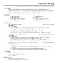 Attorney Resume Examples | Ophion.co