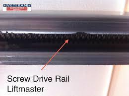 chain drive craftsman opener drive opener rail liftmaster