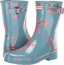 Hunter Shoe Size Chart Hunter Womens Refined Blossom Print Short Boot