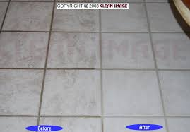 with white tile grout and cabnets the soiled grout lines jump out at you a good deep cleaning red the grout to like new