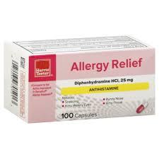 Harris Teeter Allergy Relief Capsules 100.00 ct Harris Teeter