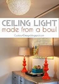 diy ceiling lighting. Cuckoo4Design. Ceiling Light DIYCeiling Diy Ceiling Lighting
