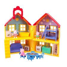 Peppa Pig Bedroom Decor Peppa Pig Peppas Deluxe House Playset Toysrus