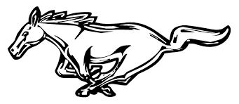 mustang logo black and white. Unique Mustang Ford Mustang Logojpg Inside Logo Black And White