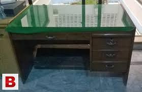 glass top office table. Pictures Of Wooden Office Table With Glass Top