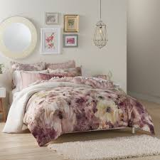 lc lauren conrad bloom duvet cover set inside comforter idea 2