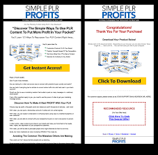 Simple Products Profit Simple Plr Profits Primo Plr