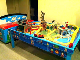 thomas the train wooden set the train wooden train set the train wooden table train table thomas the train wooden