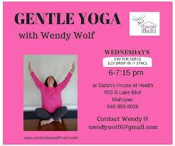 Gentle Yoga with Wendy Wolf