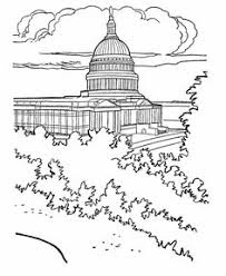 Small Picture US Capitol Building coloring pages US History Coloring Sheet